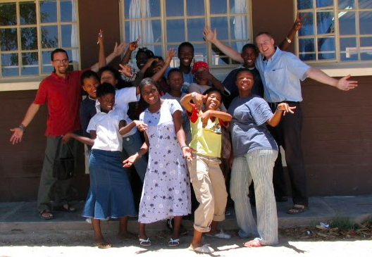 jason teaching in Omaruru 2005