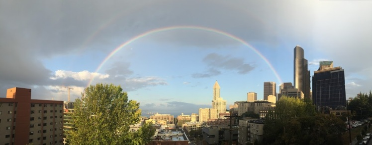 rainbow over seattle.JPG