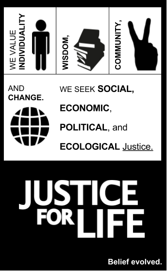 Justice For Life Visual - Belief Evolved 2